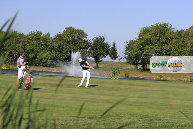 Oliver Wilson (ENG) on the 18th fairway during Round 2 of the D&amp;D Real Czech Masters 2016 at the Albatross Golf Club, Prague on Friday 19th August 2016.<br /> Picture:  Thos Caffrey / www.golffile.ie<br /> <br /> All photos usage must carry mandatory copyright credit   (&copy; Golffile | Thos Caffrey)