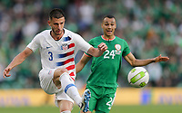 Dublin, Ireland - Saturday June 02, 2018: Matt Miazga during an international friendly match between the men's national teams of the United States (USA) and Republic of Ireland (IRE) at Aviva Stadium.