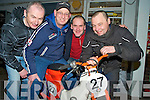 Louis Leahy, Matt Sweetman, Paudie Fitzgerald and Tom O'Sullivan, Killarney, who took part in the Honda 50 endurance race in Mondello Park in aid of the Rape Crisis Centre on Saturday.