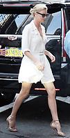 JUL 20 Charlize Theron Seen at Good Morning America