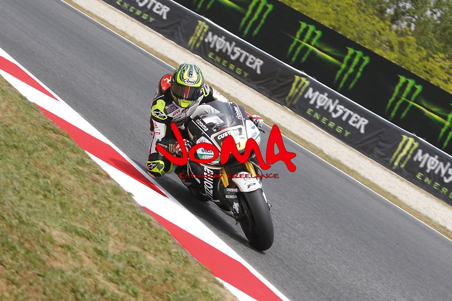 Cal Crutchlow (GBR) LCR Honda, Free practice, Gran Premi Monster Energy de Catalunya