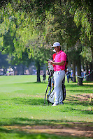 Jon Rahm (ESP) looks over his approach shot on 5 during round 3 of the World Golf Championships, Mexico, Club De Golf Chapultepec, Mexico City, Mexico. 3/4/2017.<br /> Picture: Golffile | Ken Murray<br /> <br /> <br /> All photo usage must carry mandatory copyright credit (&copy; Golffile | Ken Murray)