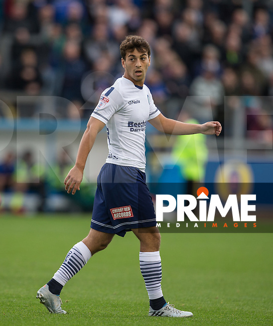 Scott Kashket of Wycombe Wanderers during the Sky Bet League 2 match between Carlisle United and Wycombe Wanderers at Brunton Park, Carlisle, England on 24 September 2016. Photo by Andy Rowland.