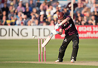 Tom Abell of Somerset CCC cuts backward of point during Essex Eagles vs Somerset, Vitality Blast T20 Cricket at The Cloudfm County Ground on 7th August 2019