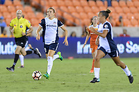 Houston, TX - Saturday July 15, 2017: Kristie Mewis during a regular season National Women's Soccer League (NWSL) match between the Houston Dash and the Washington Spirit at BBVA Compass Stadium.