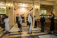 BUENOS AIRES, ARGENTINA, 22.05.2015 - CULTURA-ARGENTINA - Vist do Centro Cultural Kirchner em Buenos Aires na Argentina, nesta sexta-feira, 22. Com mais de 100.000m, o centroé uma das maiores de seu tipo no mundo. Ele é construído sobre o antigo Palácio de Correios e Telégrafos, e, sendo um edifício histórico, mantém a maior parte da aparência original e móveis. O Centro é, sem dúvida, o emblema do falecido presidente Nestor Kirchner e do governo da presidente Cristina Fernandez Kirchner e seu legado cultural mais visível após 12 anos de permanência no cargo. (Foto: Patricio Murphy/Brazil Photo Press)