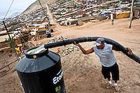 Water scarcity in Latin America (Lima, Peru)