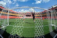 Washington DC - Tuesday , May 29, 2012: USMNT training at Fed Ex Field in preparation for a match with Brazil.