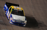 Nov. 6, 2009; Fort Worth, TX, USA; NASCAR Camping World Truck Series driver Tim Andrews during the WinStar World Casino 350 at the Texas Motor Speedway. Mandatory Credit: Mark J. Rebilas-