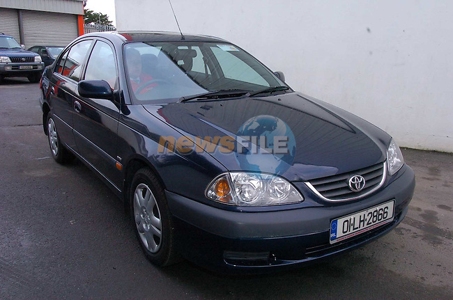 01 LH 2866 Avensis.Photo Fran Caffrey Newsfile.ie..This Picture has been sent to you by Newsfile Ltd..The Studio,.Millmount Abbey,.Drogheda,.Co. Meath,.Ireland..Tel: +353(0)41-9871240.Fax: +353(0)41-9871260.ISDN: +353(0)41-9871010.www.newsfile.ie..general email: pictures@newsfile.ie