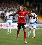 James Tavernier celebrates goal no 3