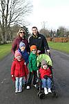 Doirreann, Cianán and Sinead Collier with Rhys, Harry and Derek Shevlin at Erin's Run, An Grianan, Termonfeckin.<br /> <br /> Photo: Jenny Matthews