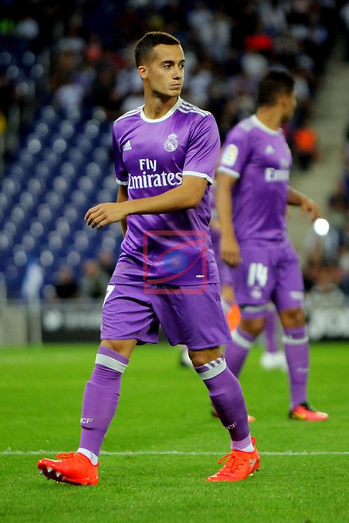 League Santander 2016/2017. Game: 4.<br /> RCD Espanyol vs R. Madrid: 0-2.<br /> Lucas Vazquez.