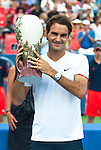 Roger Federer (SUI) Wins Record Fifth WS Open Over Novak Djokovic (SRB) 6-0, 7-6(7)