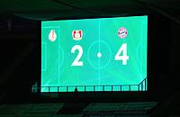 v. l. Endergebniss 2:4<br /> Fussball, Herren, Saison 2019/2020, 77. Finale um den DFB-Pokal in Berlin, Bayer 04 Leverkusen - FC Bayern München, 04.07. 2020, Foto: Matthias Koch/POOL/Marc Schueler/Sportpics.de