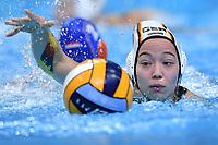 5 GER DEIKE Gesa Germany <br />  <br /> Budapest 13/01/2020 Duna Arena <br /> GERMANY (white caps) Vs. NETHERLANDS (blue caps)<br /> XXXIV LEN European Water Polo Championships 2020<br /> Photo  © Andrea Staccioli / Deepbluemedia / Insidefoto