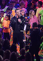 LOS ANGELES, CA - MARCH 24: John Cena hosts the Nickelodeon Kids Choice Awards 2018 at The Forum on March 24, 2018 in Los Angeles, California. (Photo by Frank Micelotta/PictureGroup)