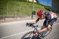 Tim Wellens (BEL/Lotto-Soudal) descending from the first climb of the day: the Colle Gallo<br /> <br /> 114th Il Lombardia 2020 (1.UWT)<br /> 1 day race from Bergamo to Como (ITA/231km) <br /> <br /> ©kramon
