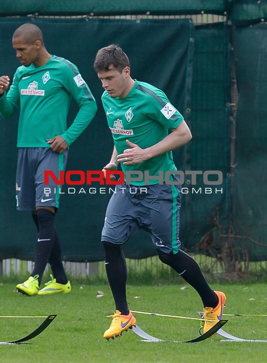 11.04.2015, Trainingsgelaende, Bremen, GER, 1.FBL, Training Werder Bremen, im Bild Zlatko Junuzovic (Bremen #16)<br /> <br /> Foto &copy; nordphoto / Frisch
