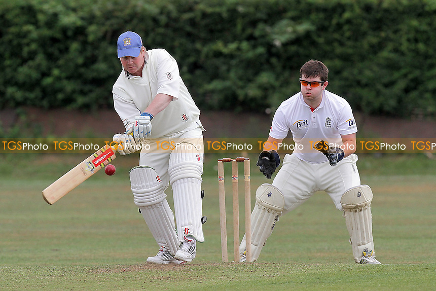 G Coates in batting action for Hornchurch Athletic - Noak Hill Taverners CC 2nd XI (fielding) vs Hornchurch Athletic CC 3rd XI - Essex Cricket League - 28/05/11 - MANDATORY CREDIT: Gavin Ellis/TGSPHOTO - Self billing applies where appropriate - Tel: 0845 094 6026