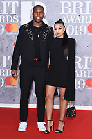 LONDON, UK. February 20, 2019: Daniel Sturridge arriving for the BRIT Awards 2019 at the O2 Arena, London.<br /> Picture: Steve Vas/Featureflash<br /> *** EDITORIAL USE ONLY ***