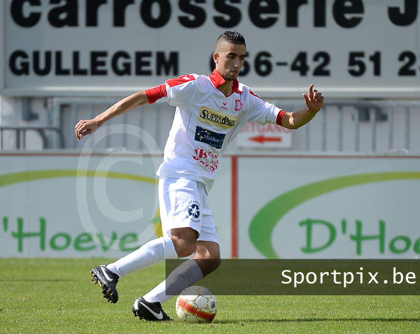 FC Gullegem : Nour Eddine El Malqui <br /> foto VDB / BART VANDENBROUCKE