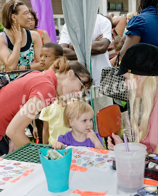 family fun day at Delaware Park on 6/2/12