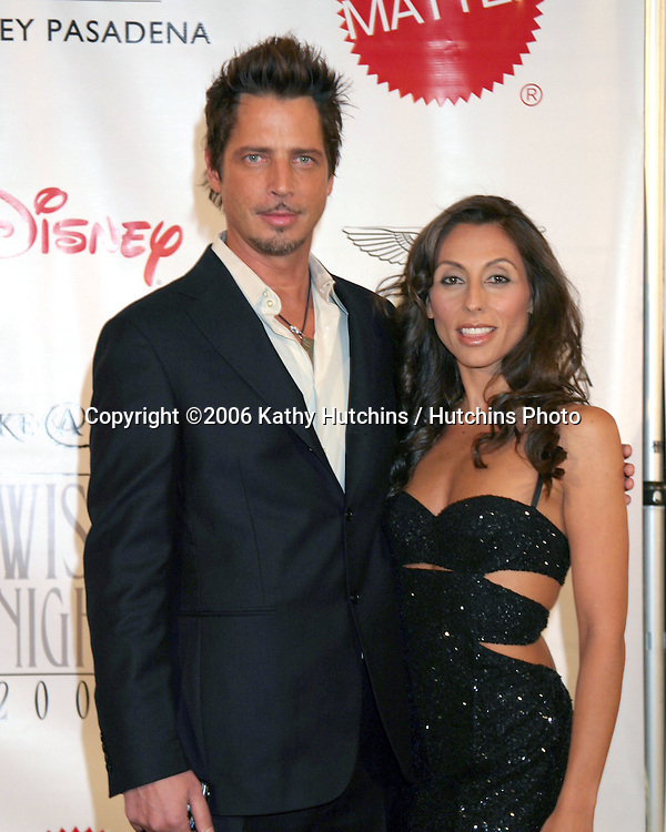 Chris Cornell & Wife.Wish Night 2006.Make-A-Wish Foundation of Greater Los Angeles.Los Angeles, CA.November 17, 2006.©2006 Kathy Hutchins / Hutchins Photo....