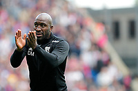 West Brom caretaker manager, Darren Moore during the EPL - Premier League match between Crystal Palace and West Bromwich Albion at Selhurst Park, London, England on 13 May 2018. Photo by Carlton Myrie / PRiME Media Images.
