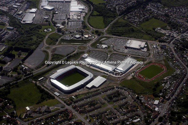 The new Scarlets rugby ground, Parc Y Scarlets at Parc Trostre Llanelli<br />