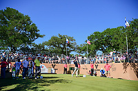 John Huh (USA) watches his tee shot on 17 during round 4 of the Valero Texas Open, AT&amp;T Oaks Course, TPC San Antonio, San Antonio, Texas, USA. 4/23/2017.<br /> Picture: Golffile | Ken Murray<br /> <br /> <br /> All photo usage must carry mandatory copyright credit (&copy; Golffile | Ken Murray)