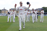 Simon Harmer leaves the field having taken six wickets as Essex clinch victory during Essex CCC vs Warwickshire CCC, Specsavers County Championship Division 1 Cricket at The Cloudfm County Ground on 16th July 2019