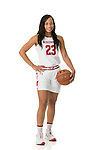 UW Women's Basketball - White Seamless Portraits