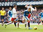 Martyn Waghorn bursts through