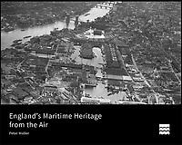 BNPS.co.uk (01202 558833)<br /> Pic: Aerofilms/HistoricEngland/BNPS<br /> <br /> The front cover of the book.<br /> <br /> Stunning historic aerial photos of seaside towns, naval bases, ports and shipyards which tell the story of Britain's once-great maritime tradition feature in a new book.<br /> <br /> The fascinating archive of black and white images includes views from a bygone age such as Brighton's famous West Pier, Grimsby's burgeoning fishing fleet, and London's dock yards.<br /> <br /> Iconic ships were also captured from the skies including the Cutty Sark in its final seaworthy years on the Thames, HMY Britannia in 1959, the RMS Queen Mary in 1946 and the SS Queen Elizabeth in 1969 about to make her maiden voyage.<br /> <br /> England's Maritime Heritage from the Air, by Peter Waller, is published by English Heritage and costs &pound;35.