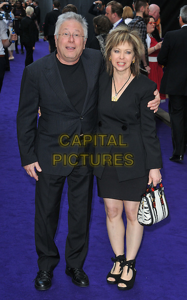 Alan Menken &amp; Janis Menken at the &quot;Disney's Aladdin&quot; press night, Prince Edward Theatre, Old Compton Street, London, England, UK, on Wednesday 15 June 2016.<br /> CAP/CAN<br /> &copy;CAN/Capital Pictures