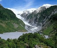 New Zealand, South Island, Franz Josef Glacier | Neuseeland, Suedinsel, Franz Josef Gletscher