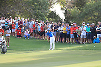 Dean Burmester (RSA) on the 18th fairway during Round 4 of the DP World Tour Championship 2017, at Jumeirah Golf Estates, Dubai, United Arab Emirates. 19/11/2017<br /> Picture: Golffile | Thos Caffrey<br /> <br /> <br /> All photo usage must carry mandatory copyright credit     (© Golffile | Thos Caffrey)