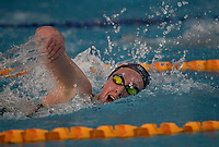 Hayley McIntosh winning the Final of the Women 800SC meter Freestyle, at the New Zealand Short Course Swimming Championships, National Aquatic Centre, Auckland, New Zealand, Friday 4th October 2019. Photo: Brett Phibbs/www.bwmedia.co.nz/SwimmingNZ