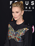LOS ANGELES, CA - APRIL 18: Actress Charlize Theron attends the Premiere Of Focus Features' 'Tully' at Regal LA Live Stadium 14 on April 18, 2018 in Los Angeles, California.