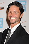 BEVERLY HILLS, CA - OCTOBER 28: Jason Behr arrives at Peace Over Violence 40th Annual Humanitarian Awards dinner at Beverly Hills Hotel on October 28, 2011 in Beverly Hills, California.