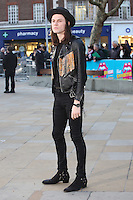 James Bay at the opening night gala of The Rolling Stones' &quot;Exhibitionism&quot; at the Saatchi Gallery. <br /> April 4, 2016  London, UK<br /> Picture: James Smith / Featureflash
