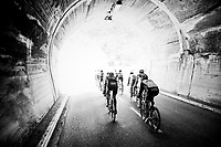 tunnel-vision<br /> <br /> 76th Paris-Nice 2018<br /> stage 6: Sisteron &gt; Vence (198km)