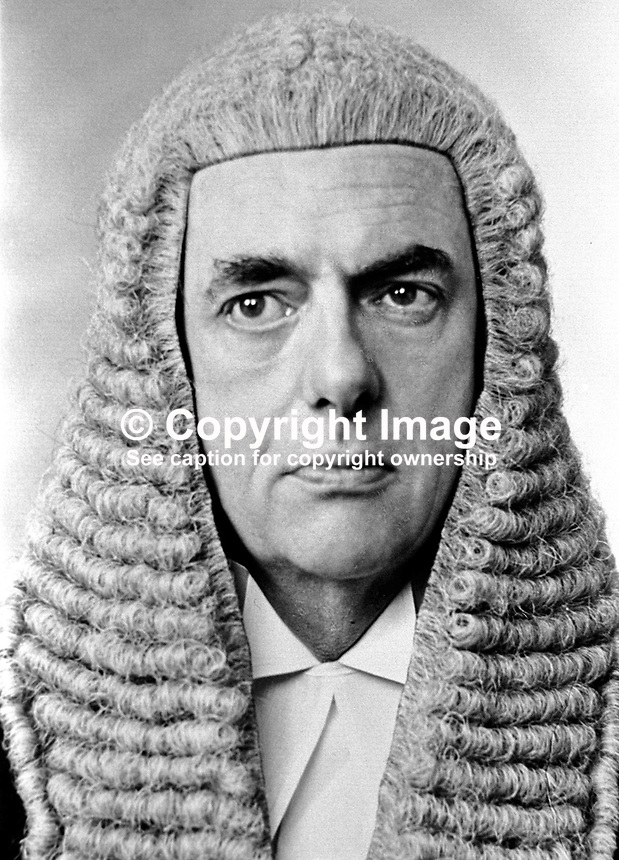 Barry Shaw, QC, Belfast, N Ireland, who has been appointed local Director of Public Prosecutions, 19th April 1972, 197204190192<br />
