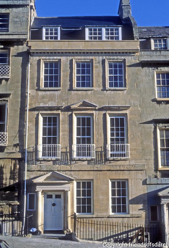Bath: Landsdowne Rd., facade.