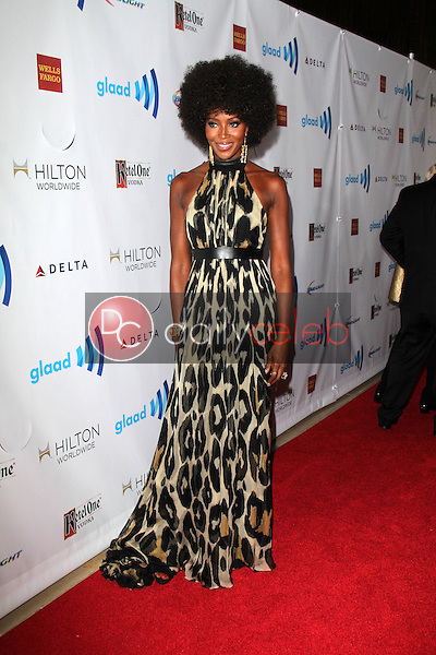 Naomi Campbell<br /> at the 25th Annual GLAAD Media Awards, Beverly Hilton, Beverly Hills, CA 04-12-14<br /> David Edwards/DailyCeleb.Com 818-249-4998