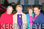..LADIES: a stroll on Sunday at the Ballinclar Horse & Sheep Fair in Annascaul on Sunady were local ladies.Bridie Flahive, Bernie Moriarty, Margaret Whelehan and Deborah Finn..