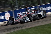 Will Power, #12 Chevrolet, action, Detroit Grand Prix, IndyCar race, Belle Isle, Detroit, MI, June 2018.(Photo by Brian Cleary/bcpix.com)
