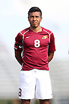 28 August 2015: Elon's Miguel Salazar (MEX). The Elon University Phoenix played the DePaul University Blue Demons at Koskinen Stadium in Durham, NC in a 2015 NCAA Division I Men's Soccer match. Elon won the game 4-0.