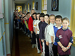 3rd and 4th classes in Dillonstown N.S..Picture Paul Mohan Newsfile